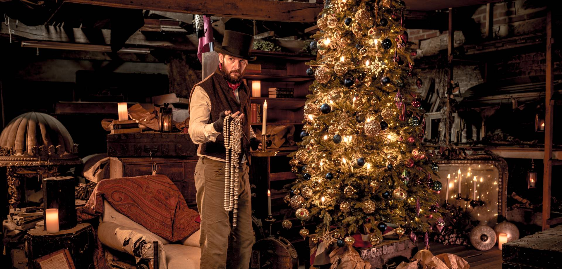 Christmas at Chatsworth: Oh Dickens!