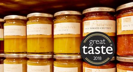 Chatsworth Estate Farm Shop is among the Great Taste winners of 2018