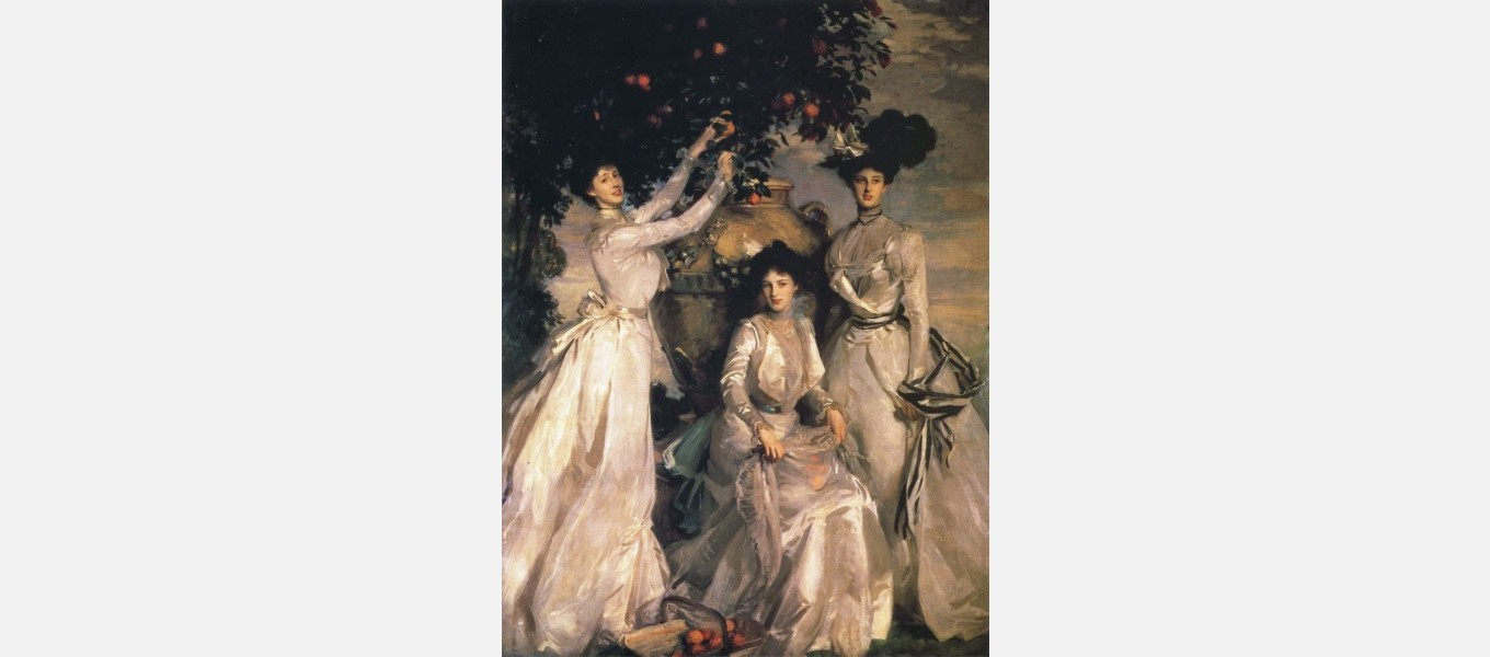 'Portrait of the Acheson Sisters' by John Singer Sargent, 1902